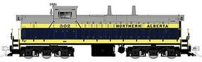 Rapido GMD-1 6-Axle Version Northern Alberta Railways #302 HO Scale Model Train Diesel #10025