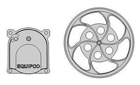 Rapido Ho EQUIPCO BRAKE WHEEL & HOUSG