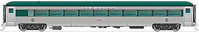 Rapido Trains Inc. Steel Coach NH #8612 -- HO Scale Model Train Passenger Car -- #17003