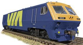 Rapido Bombardier LRC Super Continental Line(TM) VIA #6922 HO Scale Diesel Locomotive #200016
