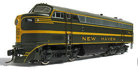 Rapido 5-Axle C-Liner New Haven 792 with Sound HO Scale Model Train Diesel Locomotive #230507