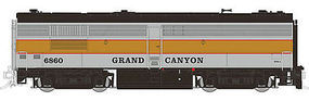 Rapido MLW FPB4 with Sound & DCC Grand Canyon Railway #6860 HO Scale Deisel Locomotive #30516