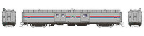 Rapido 73 Bagg-Exp Amtrack #1004 N Scale Model Train Passenger Car #506003