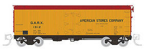 Rapido Meat Reefer GARX #1 (4) N Scale Model Train Freight Car #521002