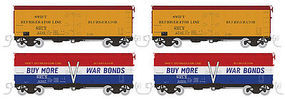 Rapido Meat Reefer Swift #1 (4) N Scale Model Train Freight Car #521901