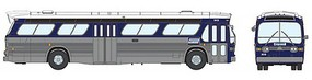 Rapido 1959-1986 GM New Look/Fishbowl Bus - Standard - Assembled Connecticut Transit #1632 (silver, blue, white)