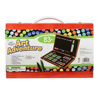Royal-Brush Art Adventure 83pc Set Art And Craft Miscellaneous #avs-543