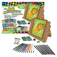 Royal-Brush Art Adventure 52pc Sketch/Draw Set Drawing Kit #avs-552