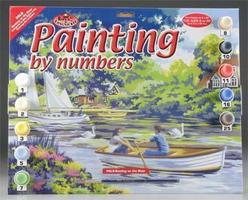 Royal-Brush PBN Boating/River 15x11-1/4 Paint By Number Kit #pal8