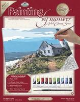 Royal-Brush PBN Canvas Lighthouse 11x14 Paint By Number Kit #pcl5