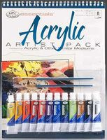 Royal-Brush Acrylic Artist Pack Paint By Number Kit #rd505