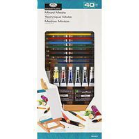 Royal-Brush SM H Easel Mixed Media Set Pencil By Number Kit #rea5320