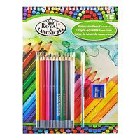 Royal-Brush 9x12 Watercolor Pencil Pad Set Watercolor Paint #rtn-105