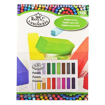 Royal Brush Manufacturing 9x12 Soft Pastel Pad Set -- Drawing Kit -- #rtn-107