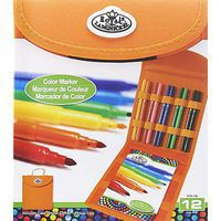 Royal-Brush Color Marker Square KNC Drawing Kit #rtn-168