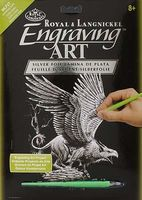 Royal-Brush Silver Engraving Art Screaming Griffin Scratch Art Metal Art Kit #silf27