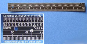 RB 1/35 Scale Ruler, Stainless Steel