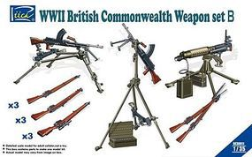 Rich WWII British Weapon Set B Plastic Model Weapon Kit 1/35 Scale #30011