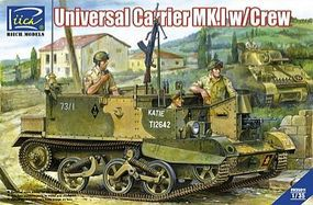 Rich Universal Carrier Mk.I Plastic Model Military Vehicle Kit 1/35 Scale #35011