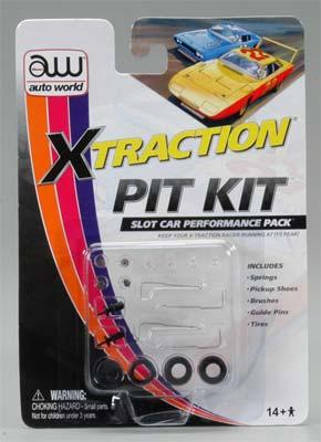 Round2 X-Traction Pit Kit -- HO Scale Slot Car Part -- #00105