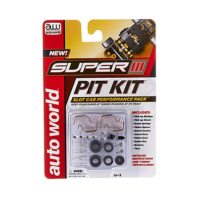 Round2 Super III Pit Kit -- HO Scale Slot Car Part -- #00301