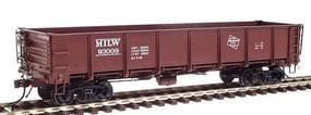 Red-Caboose Milwaukee Road General Service Drop Bottom Gondola HO Scale Model Train Car #35014