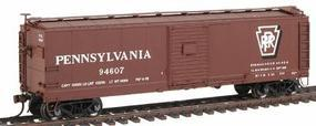 Red-Caboose X-29 Patch Car - Assembled - Single Car Pennsylvania Railroad Shadow Keystone - HO-Scale