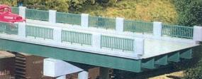 Rix 50 Steel Highway Overpass Beams (10) Model Railroad Bridge HO Scale #125