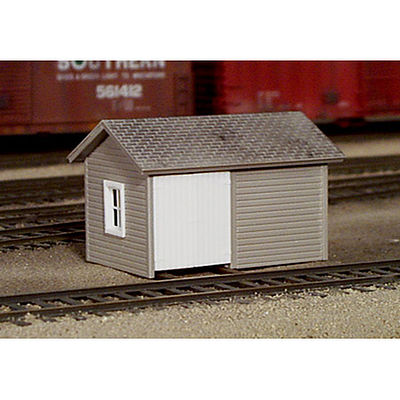 Rix Products Handcar Shed -- Model Railroad Building -- HO Scale -- #5410006541-0006