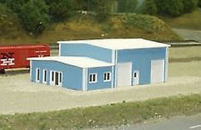 Rix Contractors Building Model Railroad Building Kit N Scale #5418006541-8006