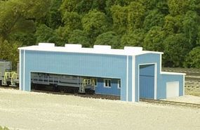 Rix Atkinson Engine Facility Model Railroad Building Kit N Scale #5418008541-8008