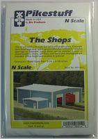 Rix The Shops Model Railroad Building N Scale #5418014541-8014