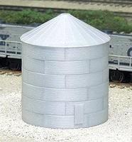 Rix 30 Corrugated Grain Bin Model Railroad Building N Scale #703
