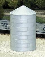 Rix 40 Corrugated Grain Bin Model Railroad Building N Scale #704