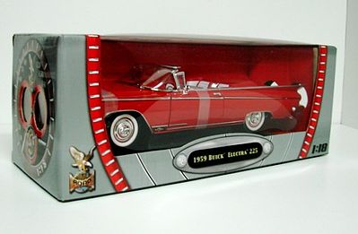 Road Legends 1959 Buick Electra 225 Convertible (Red) -- Diecast Model Car -- 1/18 scale -- #2598red