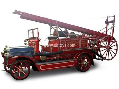 Road Legends 1921 Dennis N Type Fire Engine Truck -- Diecast Model Truck -- 1/43 Scale -- #43008