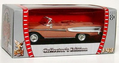 Road Legends 1958 Edsel Citation -- Diecast Model Car -- 1/43 Scale -- #94222