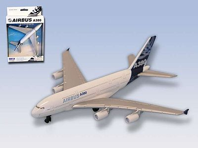 Realtoy International Airbus A380 Airliner (5'' Wingspan) (Die Cast)