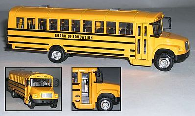 Realtoy International 1/53 Yellow School Bus (Die Cast)