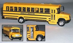 Realtoy 1/53 Yellow School Bus (Die Cast)