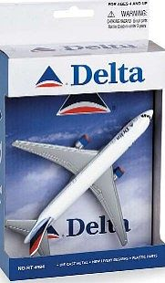 Realtoy International Delta Airlines B767-300 (5'' Wingspan) (Die Cast)