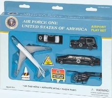 Realtoy Air Force One Die Cast Playset (12pc Set)