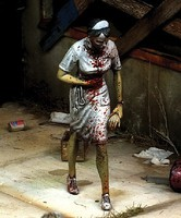 Royal-Model 1/35 Nurse Zombie (Resin)
