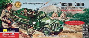 Revell-Monogram Personnel Carrier Halftrack (SSP) Plastic Model Vehicle Kit 1/35 Scale #35