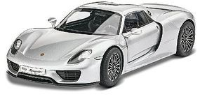 Revell-Monogram Porsche 918 Spyder Sports Car 1/24 Scale Plastic Model Car Kit #4329