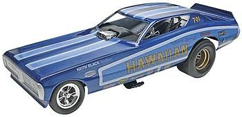 Revell-Monogram Hawaiian Charger Funny Car -- Plastic Model Car Kit -- 1/16 Scale -- #85-4082