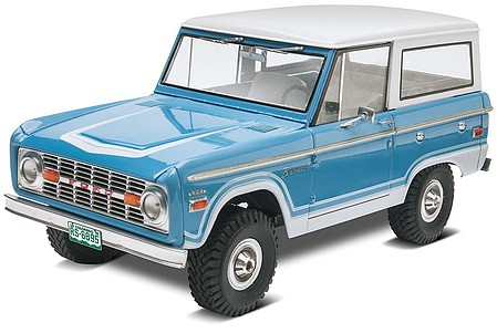 Revell-Monogram Ford Bronco -- Plastic Model Truck Kit -- 1/25 Scale -- #85-4320