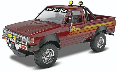 Revell-Monogram Datsun Off-Road Pickup -- Plastic Model Truck Kit -- 1/24 Scale -- #85-4321