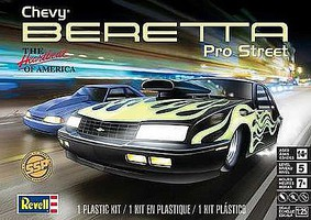 Revell-Monogram Chevy Beretta Pro-Street Plastic Model Car Kit 1/25 Scale #85-7168