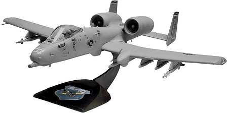 Revell-Monogram A-10 Warthog -- Snap Tite Plastic Model Aircraft Kit -- 1/72 Scale -- #851181